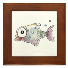 KiniArt Fish Framed Tile