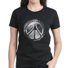 Urban Peace Sign Sketch Tee