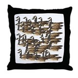 Lots O' Geese II Throw Pillow
