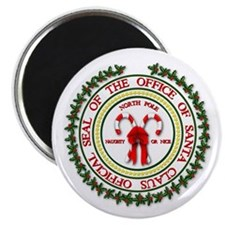 "Office of Santa Gifts 2.25"" Magnet (100 pack)"