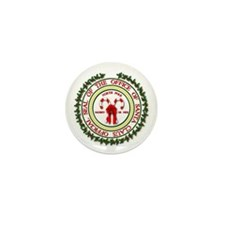 Office of Santa Gifts Mini Button