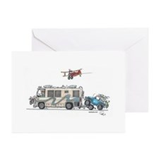 Heading to the Airshow Greeting Cards (Pk of 10)