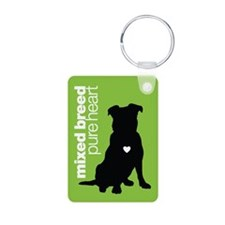 Mixed Breed Keychain Green