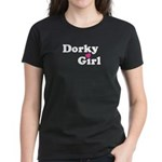 Dorky Girl Women's Dark T-Shirt