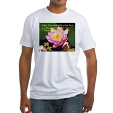 Water Lily Fitted T-shirt (Made in the USA)