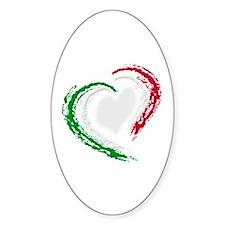 Italian Heart Decal
