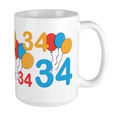 34 Years Old - 34th Birthday MugMugs