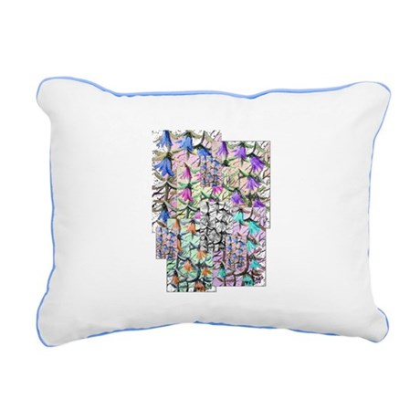 ladybells2.JPG Rectangular Canvas Pillow