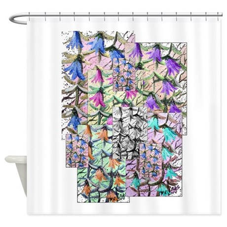 ladybells2.JPG Shower Curtain
