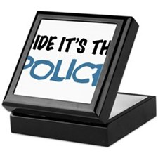 Hide it's the Police Keepsake Box