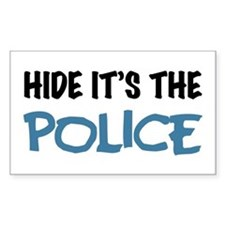 Hide it's the Police Decal