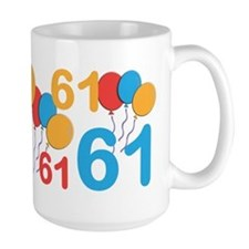 61 years old - 61st Birthday Mug