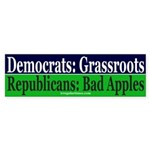 Republicans: Bad Apples Bumper Sticker