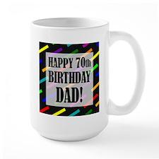 70th Birthday For Dad Mug