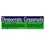 Republicans: Astroturf Bumper Sticker
