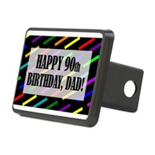 90th Birthday For Dad Hitch Cover