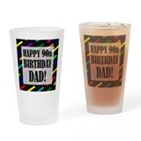 90th birthday Pint Glasses