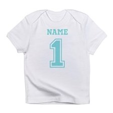 Blue Number One Infant T-Shirt