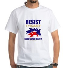 Resist Tyranny Red T-Shirt