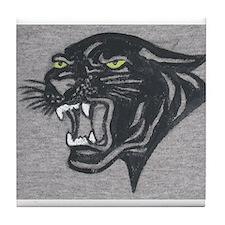 Panther Print Tile Coaster
