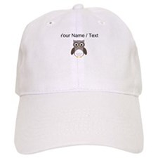 Cartoon Owl Baseball Baseball Cap