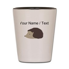 Cartoon Porcupine Shot Glass