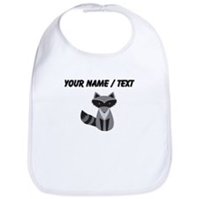 Cartoon Raccoon Bib