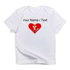Cartoon Fox Heart Infant T-Shirt