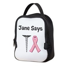 Jane Says Screw Cancer! Change to Your Name Neopre