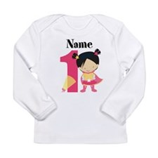 Girl Superhero 1 Long Sleeve T-Shirt