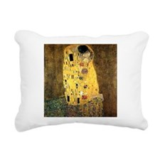 The Kiss Rectangular Canvas Pillow