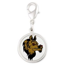 Brown Wolf Charms