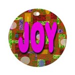 JOY Ornament (Round)