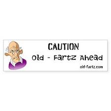 Old Fartz Bumper Bumper Sticker