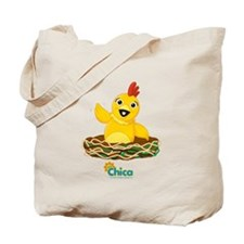 Chica on Nest Tote Bag