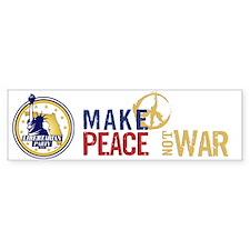 Libertarian Peace Bumper Bumper Sticker Bumper Bumper Sticker