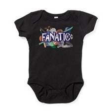 Sports Fanatic Baby Bodysuit