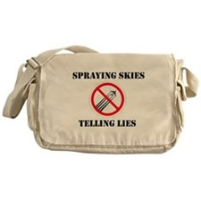Anti Chemtrail Messenger Bag