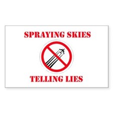 Anti Chemtrail #2 Decal