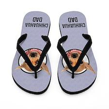 Chihuahua Dad Flip Flops