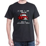 Man & His truck T-Shirt