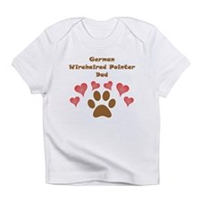 German Wirehaired Pointer Dad Infant T-Shirt