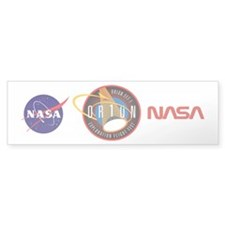 Exploration Flight Test 1 Bumper Sticker