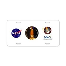 Delta IV Heavy Aluminum License Plate