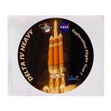 Delta IV Heavy Throw Blanket