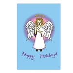 Happy Holidays ILY Angel Postcards (Package of 8)