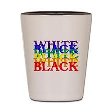 BLACK WHITE UNITY.psd Shot Glass