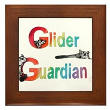 Glider Guardian Framed Tile