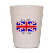 Reading England Shot Glass