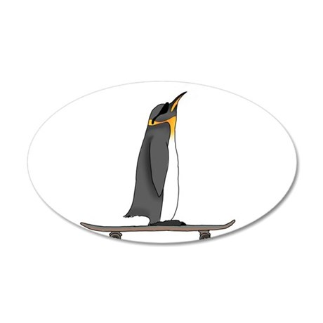 Cool Penguin Wall Decal